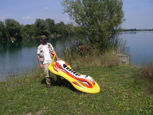 Ronan and his Jet Ski