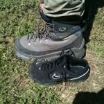 Babus borrows Milans boots