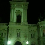 Keszthely by night. (Much nicer than naggashagga!)