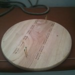 Cribbage board for Fellowship