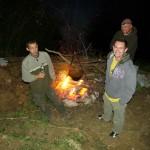 Campfire at Latohead.