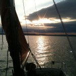 Evening sail to Siofok.