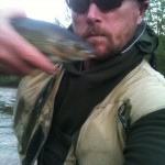 Grayling (difficult to photo because unlike trout they kick!)