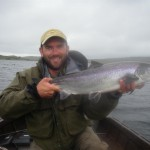 My personal best Atlantic Salmon off a lake!