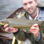 A nicely marked Inagh brown a couple of days before close of season.