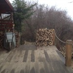 Wood on the Terrace (one pile next to the Casting Platform - hell, the CP *is* wood).