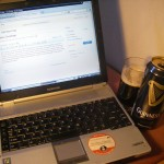Guinness and a quick blog!