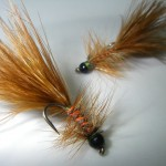 Size 10 Woolley Bugger. There should always be a few in your flybox.