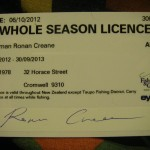 My personalised licence!!