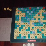 Scrabble from 3 nations, Hungary, France and Ireland (with some help from England in the form of CamoGuy!!)