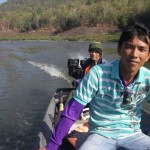 Guide and boatman.. Never got their names. Tried but failed. They could not say my name either!