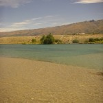 I pulled up on this sand flat last Sat. Nothing on the flat itself but plenty on the drop-off..