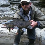 Stunning big gray sea-trout.. and man can they fight. They seem to know every snag in the pool.