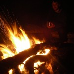 Another modest campfire satisfying my arsonist tendencies...