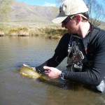 Mike releases a quality brown.. The Winston is christened!