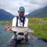 A beautiful white trout for Jeff..