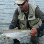 This 8lber was my first and best. What a start! My biggest seatrout from the surf.