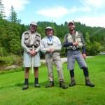 The compulsary shot before we hit the water. I fished with David Lambroughton and Ken Whelan on Sunday last.