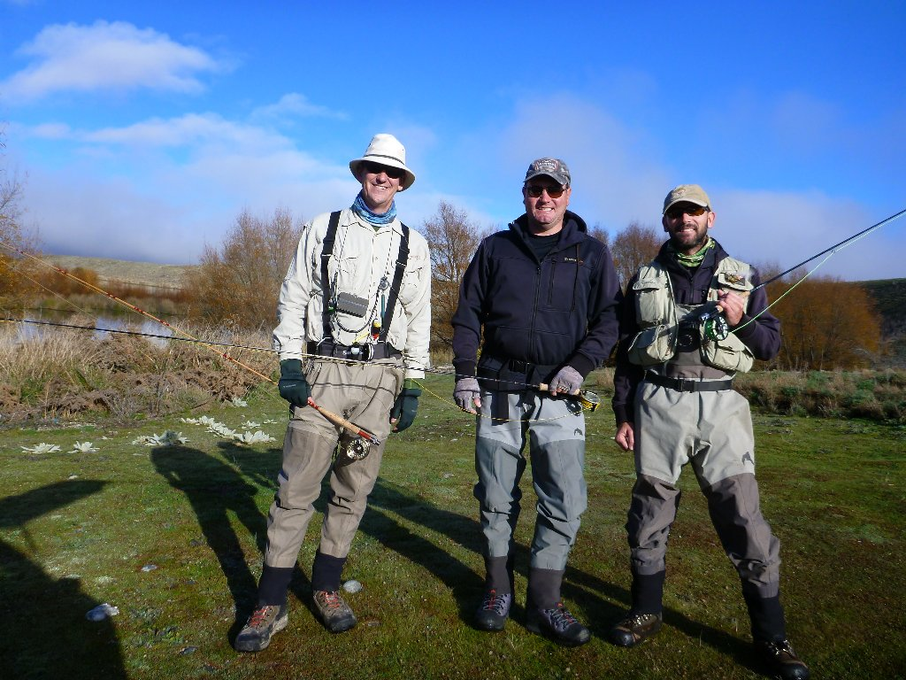 The beginning of a pretty uneventful fishing day with Chris and Fraser (Hocks).. 2 fish between the 3 of us for the day! Great to catch up with the lads..
