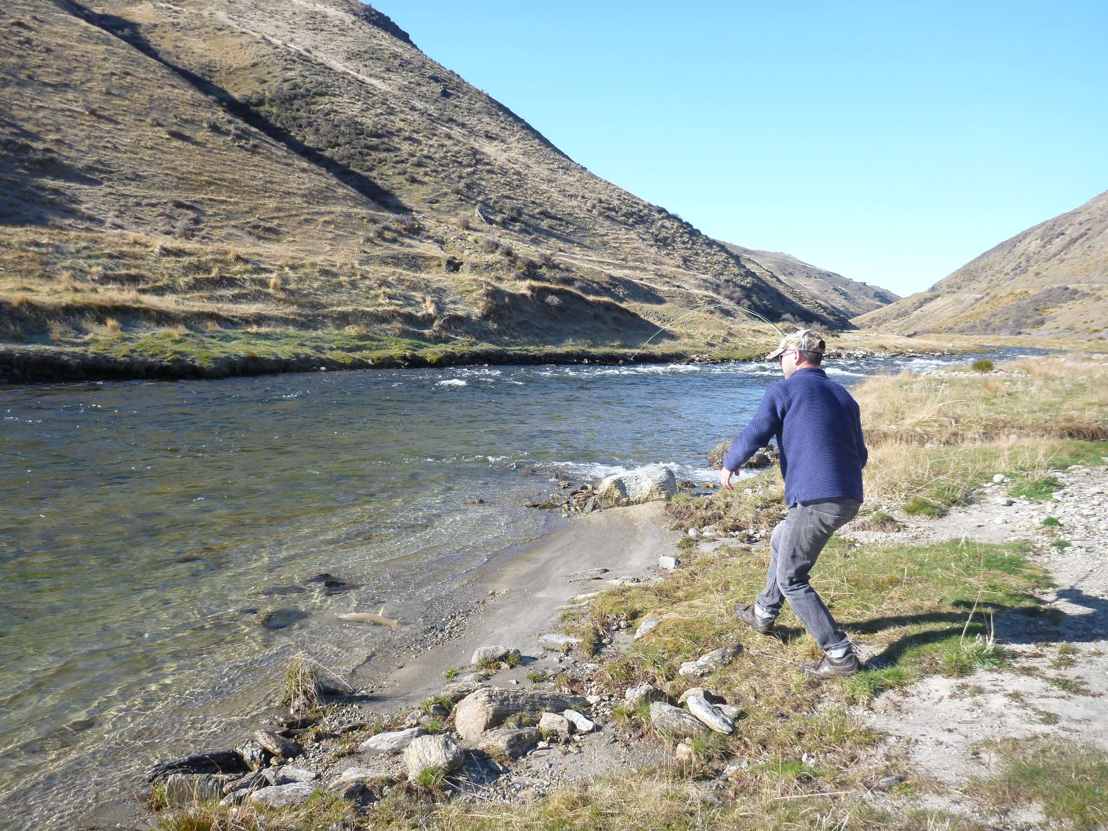 Fishing with Robbie, Oct 2014 005