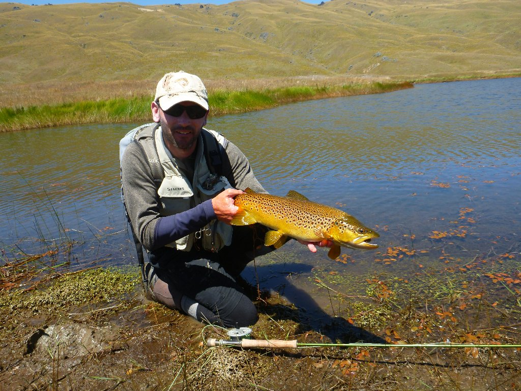 There are not many places where a fella can catch trout with colours like this.