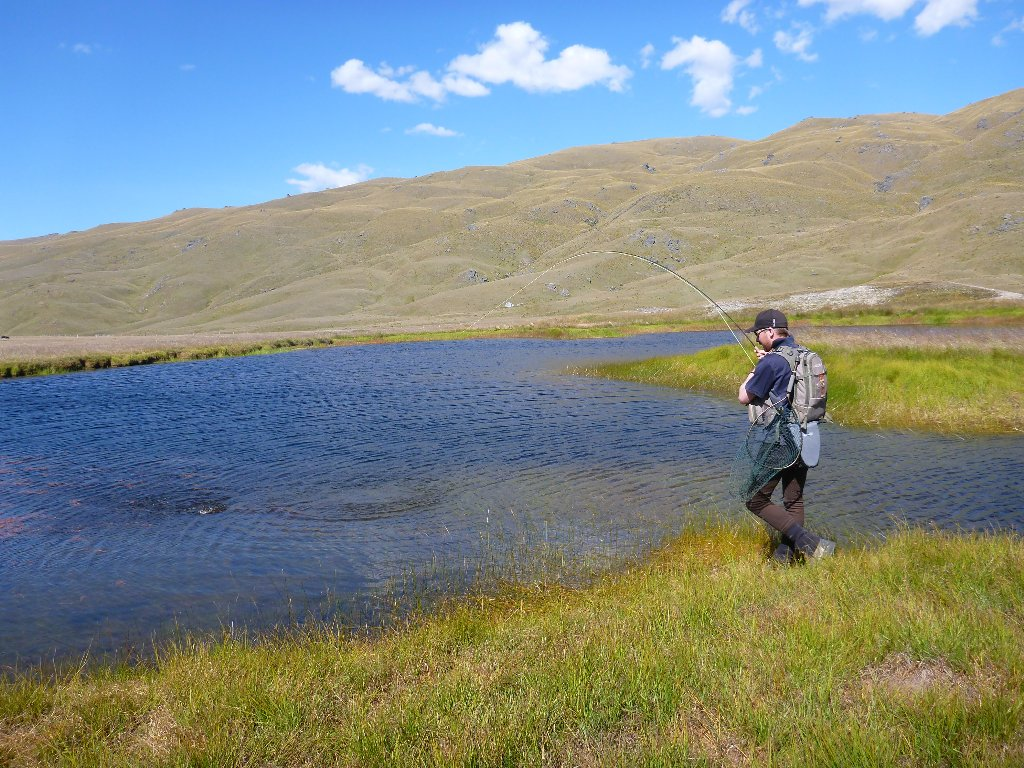 Tom from the Otago Anglers joined for the day recently..