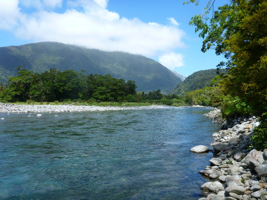 A west coast river in all her glory..