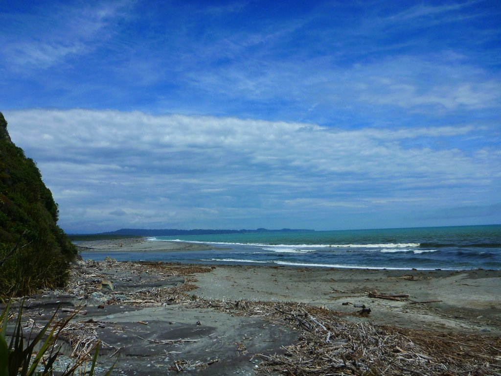 The Poerua River Mouth