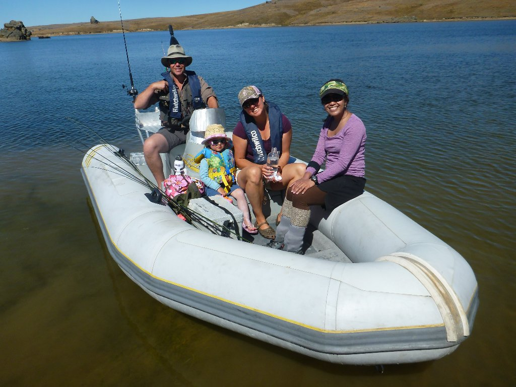 We recently had our club trip to Manorburn. Terrible fishing but great fun and lots of Koura (fresh water cray). No photos unfortunately. Here is Fraser, Abi, Hattie and Iza..