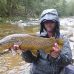 A nicely marked brownie for me!