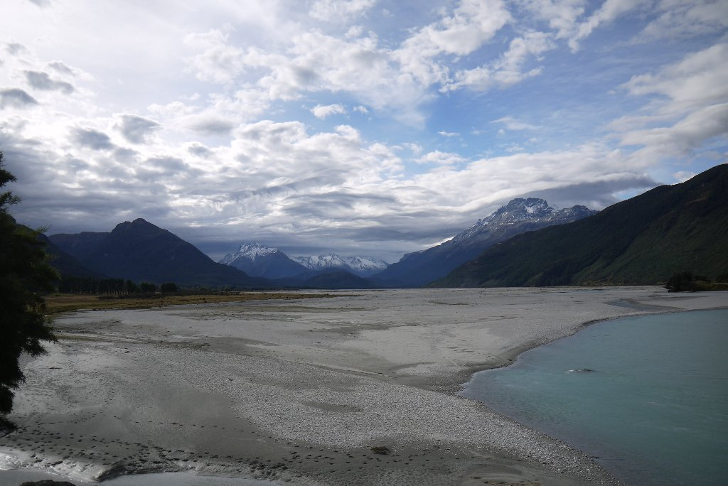 The Dart River valley..