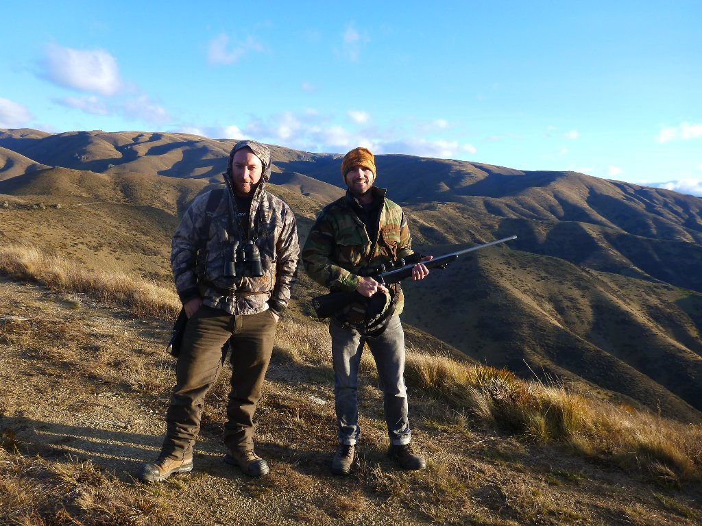 Kevin and I went out to see if we could shoot a deer one Saturday evening..