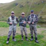 Myself, Robbie and Mark at the beginning of our 3 day mission.