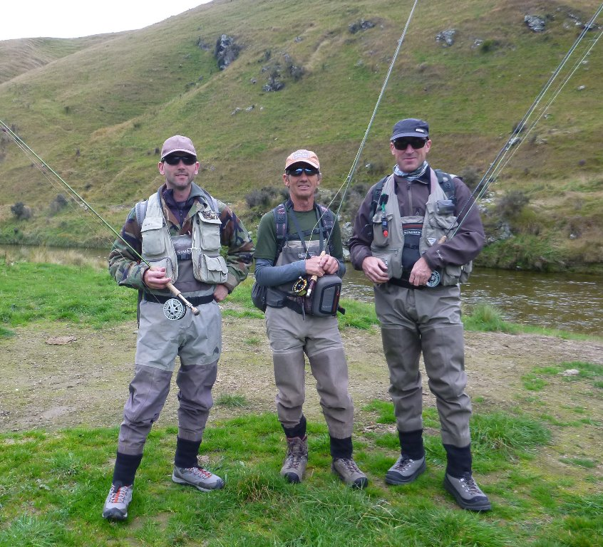 Myself, Robbie ans Mark at the beginning of our 3 day mission.