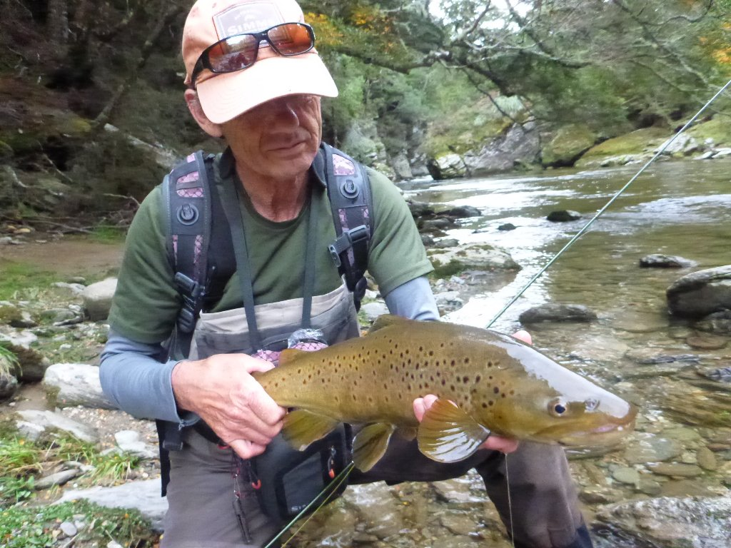 Robbie with a nice wee brownie.