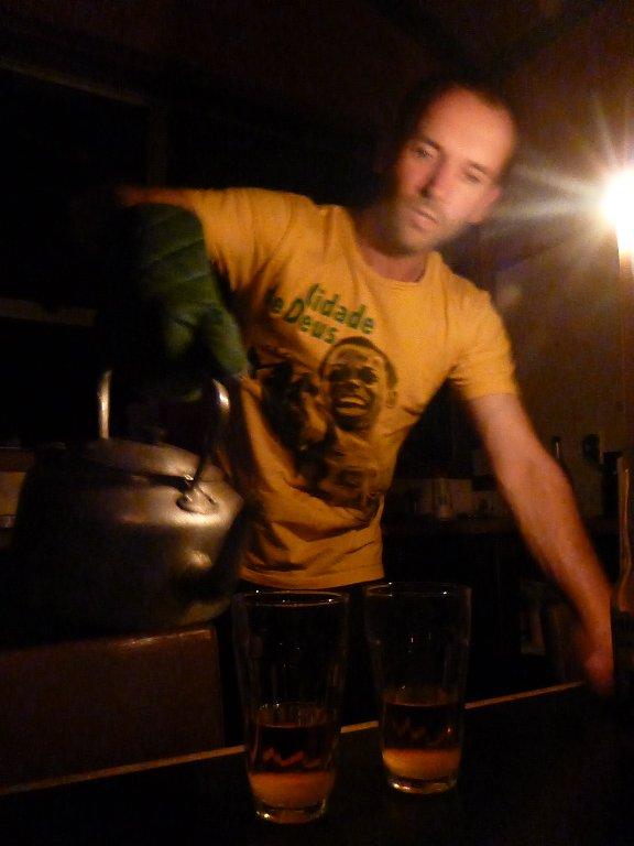 ..while I make the hot whiskeys!