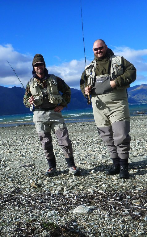 Recently I caught up my old friend, Trevor. He lives in Wanaka now building fly-rods. The stars have aligned for him, that's for sure!