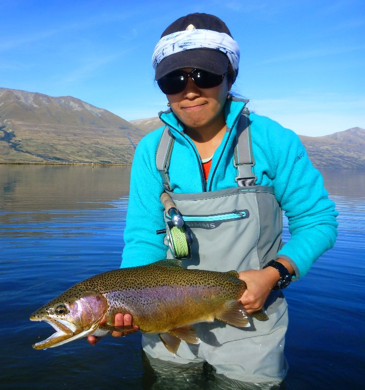 And another great fish for Iza. She's had a super season!