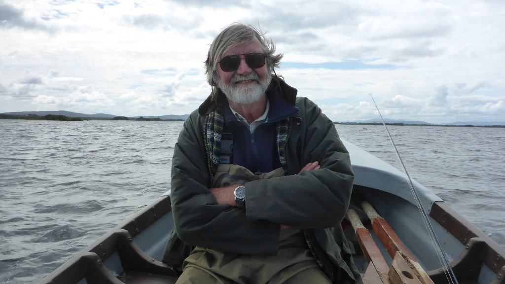 A happy man after succeeding in his mission. You my remember John from many of my Tasmanian blogs from a few years ago. He happened to be in Ireland while I was home so we drank Guinness and fished!