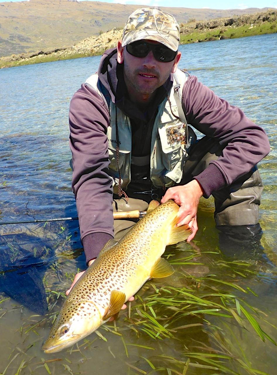A stunning golden trout..