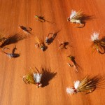 A few flies for a mission to the coast..
