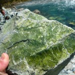 a vein of Greenstone I think..