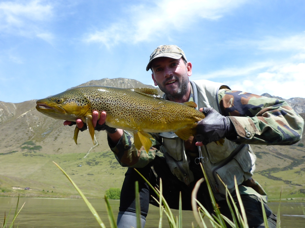 You can target big trout in still waters.. here's the proof!