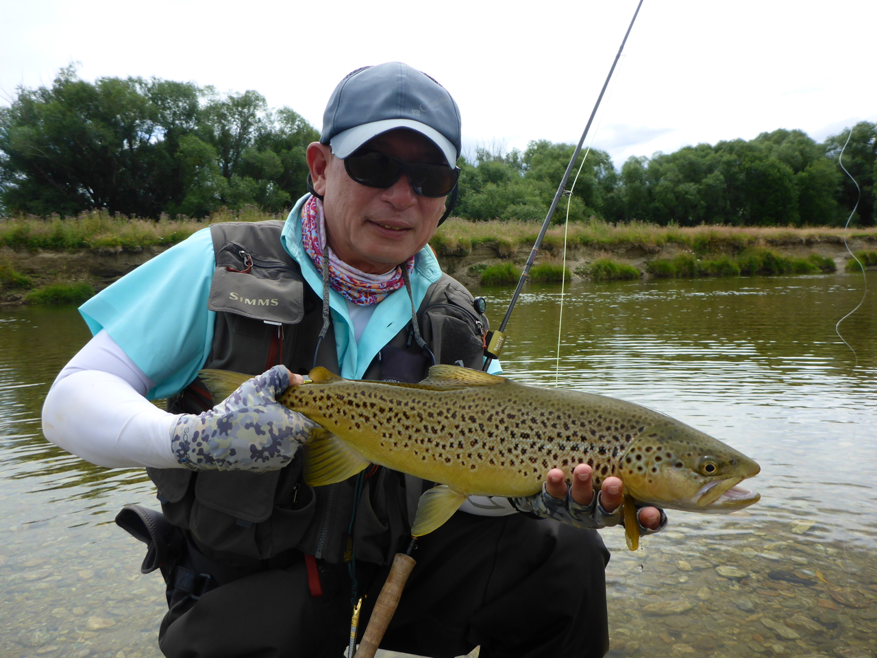 Chuan, A good angler and great craic to fish with!