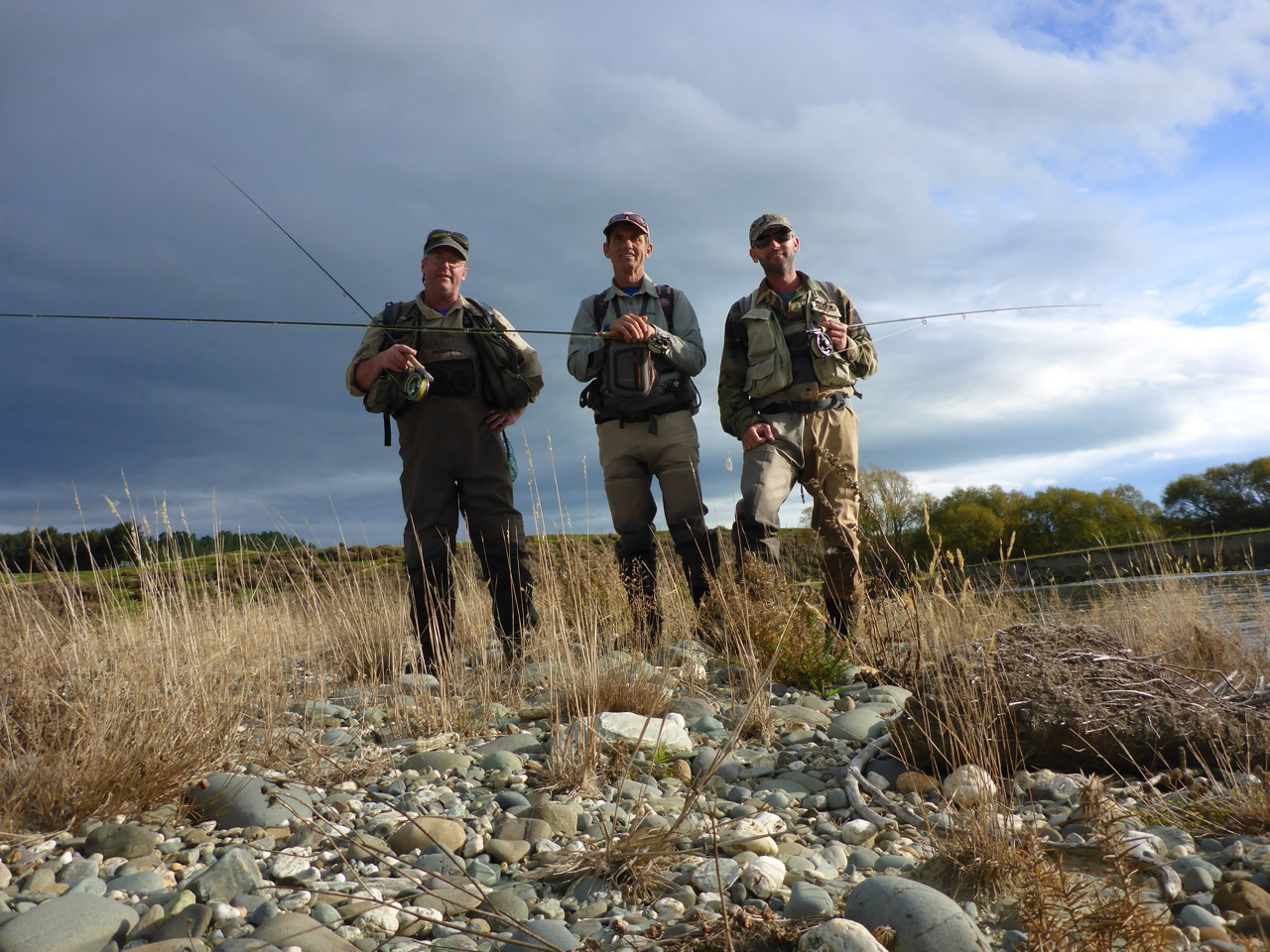 "Fishing with Chris Jackson and Robbie Mcphee. Two main player from the ""New Zealand Trophy Waters"" movies.."