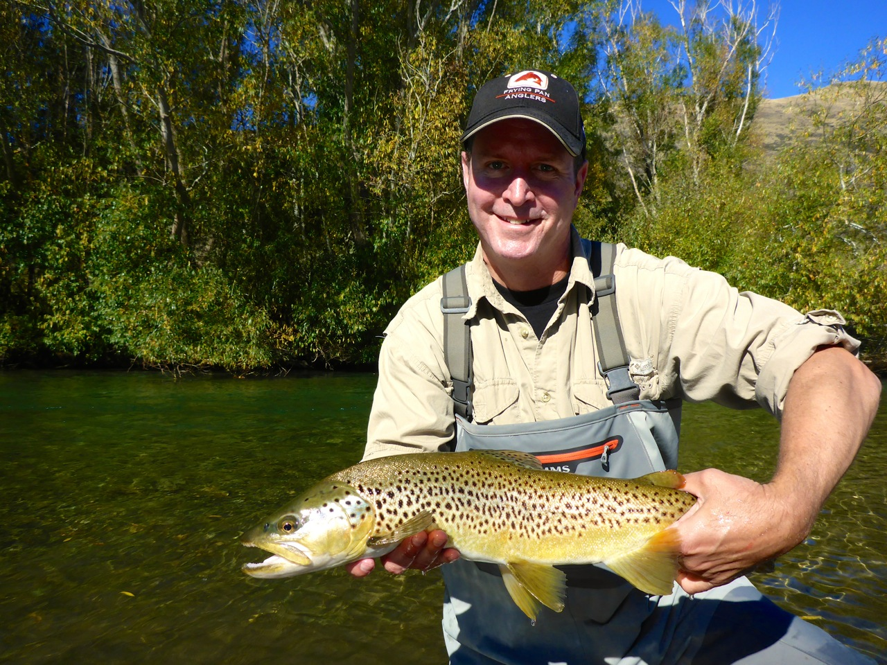 Happiness can simply be a trout!