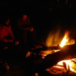 A great fire on a cold night! This after day one filming with Jeff Forsee and Nick Reygeart for an upcoming NZ fly-fishing tv show.