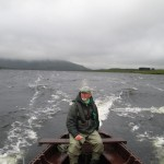 Dad and I on the water again.. this time, Lough Inagh..