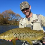 One of my last fish of the brown trout season, Browns can still be targeted in May on some rivers but most brown trout rivers close April 30th on the South Island.