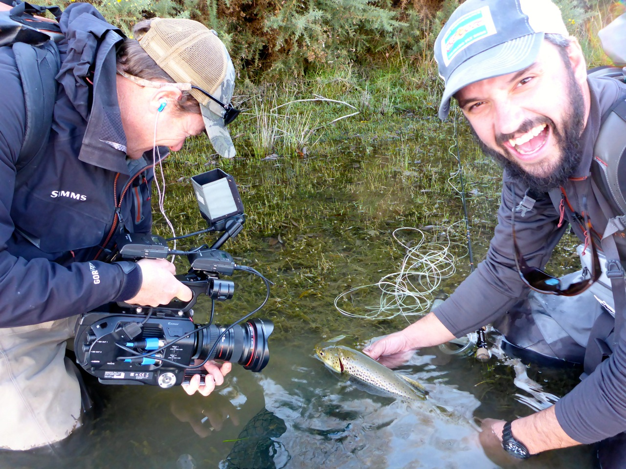Jeff and I finished our episode with Nick Reygaert. Here were trying to make a skinny fish look good!!! I think we put something pretty cool together.. It'll be on Sky TV next summer (I think.. ish)